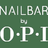 logo nail bar by opi white